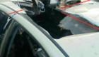 Το αυτοκίνητο του του Αμπού Κχαΐρ αλ Μάσρι, στελέχους της Αλ Κάιντα που βλήθηκε από πύραυλο R9X.