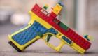 Το BLOCK 19, ένα πιστόλι πραγματικό με την εμφάνιση LEGO, που δημιουργήθηκε για ψυχαγωγικούς και διαφημιστικούς λόγους.