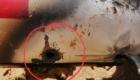 Το σημείο που το τουρκικό λέιζερ έλιωσε και κατέστρεψε το κινεζικό UAV των Λιβυκών στρατευμάτων.