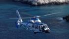 Ελικόπτερο AS365N3 Dauphin 2 της ΜΕΛΣ-ΕΛΑΚΤ σε πτήση δοκιμών αποδοχής. Στα δεξιά του ελικοπτέρου διακρίνεται το σύστημα EO/IR Star SAFIRE II.