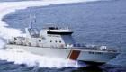 Ταχύ περιπολικό σκάφος τύπου Ρ350ΤΝ της Τυνησιακής Εθνικής Φρουράς στις 3 Δεκεμβρίου 2013. (Vittoria)