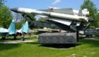 """Βλήμα 5V28 σε φορέα εκτόξευσης 5Ρ72V του συστήματος S-200V Vega (SA-5B """"Gammon"""")."""