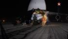 Στιγμιότυπο από το υποτιθέμενο βίντεο άφιξης του συστήματος S-300PMU2 στη Συρία, με όχημα εκτόξευσης 5Ρ85SM2 τεσσάρων βλημάτων.