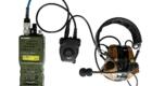 Ασύρματος PRC152 με ηλεκτρονικά ακουστικά προστασίας/ επικοινωνίας