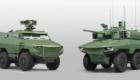 Το Βέλγιο θα αποκτήσει γαλλικά τεθωρακισμένα τροχοφόρα 6x6 Griffon (αριστερά) και Jaguar (δεξιά).